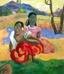 Tahitanki, inspiracje Gauguinem