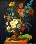 Kwiaty w styluholnderskim
